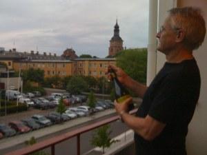 Jag korkar upp för omstarten av min svenska blogg